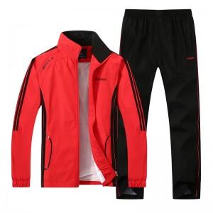 Custom new design casual stylish plain mens cheap sport gym track suit