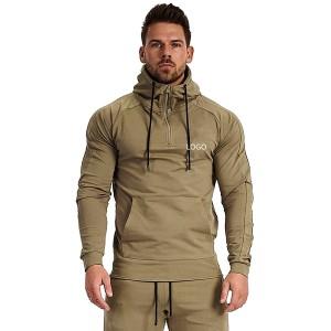 Custom made Logo Men Hoodies High Quality Cotton Pullover Sweatshirts Hoodie