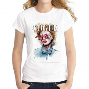 2021 New fashion Summer New Print Cartoon  T-shirts Cotton Girls Tops Casual Tee